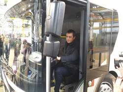 На Луцком автозаводе собрали первый электрогрузовик