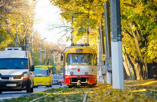 Сколько бюджетных средств в ноябре потратили на транспорт и инфраструктуру Одессы