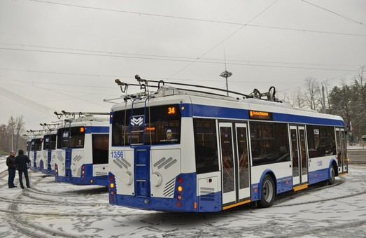В Кишиневе открыли еще один маршрут, на котором работают троллейбусы с автономным ходом