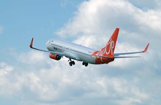 Авиакомпания «SkyUp» зарегистрировала уже четвертый самолет