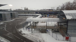 Как выглядит железнодорожная станция в аэропорту «Борисполь» накануне открытия
