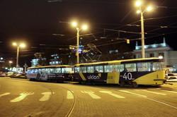 В Одессе снова запустили двухвагонные трамваи (ФОТО)