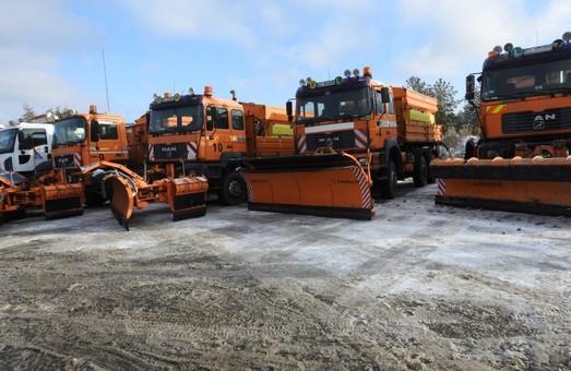 Одесская фирма занимается эксплуатационным содержанием дороги в Киевской области