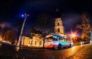 Когда в Одессе можно встретить ночной троллейбус (ФОТО)