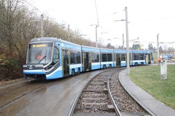Первый трамвай «Skoda 35T» доставлен в депо Хемница