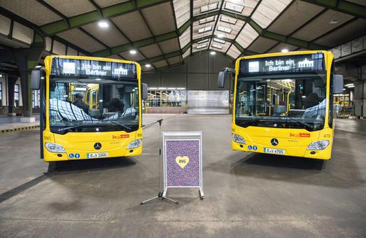 Берлин закупает почти тысячу новых автобусов «Mercedes-Benz Citaro»