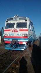 Львовская железная дорога получила капитально отремонтированный электропоезд