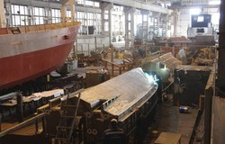 Николаевская верфь «Black Sea Yachts» стала лучшим судостроительным предприятием Украины