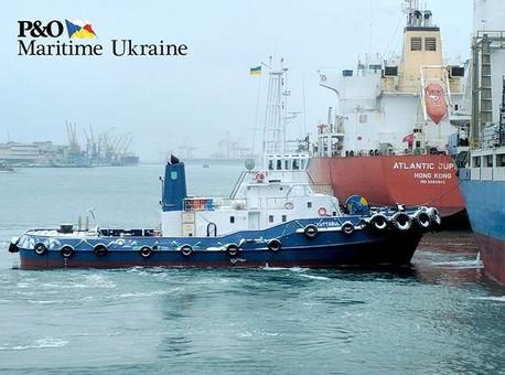 Порт Черноморска под Одессой обзавелся еще одним буксиром ледового класса