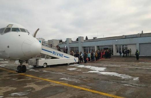Сотрудники ровенского аэропорта требуют выплаты заработной платы