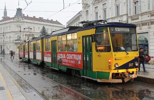 Мишкольц продает трехсекционные трамваи