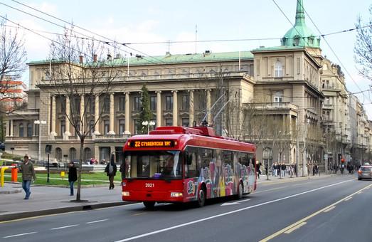 Сербская столица может отказаться от троллейбусов в пользу электробусов