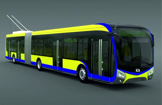 Теплице покупает три новых троллейбуса «Škoda»