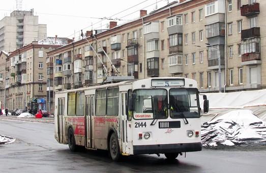 В Днепре тестируют новую троллейбусную линию