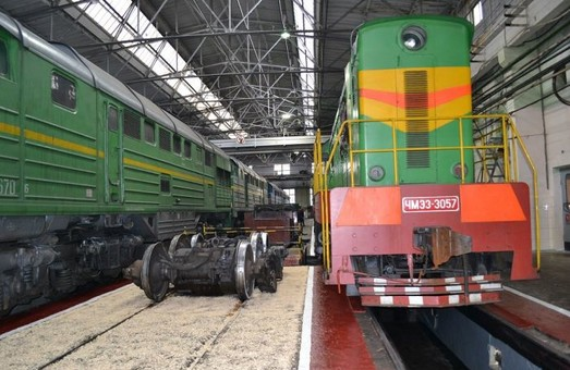 В локомотивном депо Мелитополя готовятся к приему локомотивов «General Eleсtric»