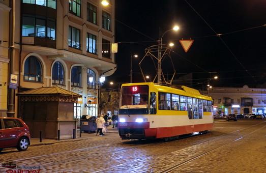 В Одессе в новогоднюю ночь будут курсировать трамваи и троллейбусы