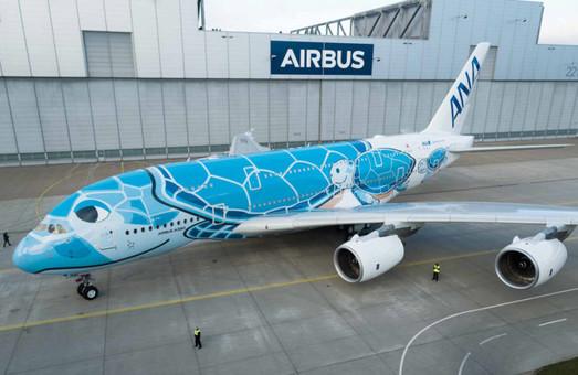 «Airbus» построил свой первый авиалайнер А380 для японской авиакомпании