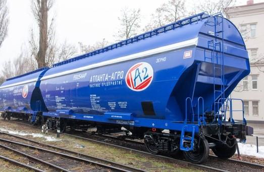 На заводе в Крюкове построили 10000-ный вагон-зерновоз