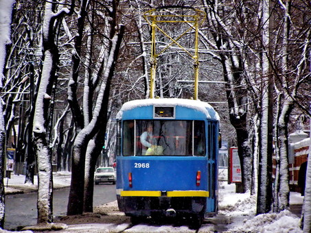 Одесский транспорт 11 лет назад: 15 декабря (ФОТО)