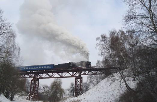 Во Львове на католическое Рождество будет курсировать ретро-поезд