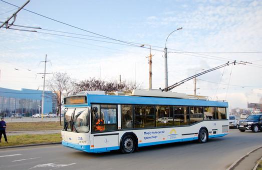 В Мариуполе открыли новую троллейбусную линию и презентовали чешские трамваи