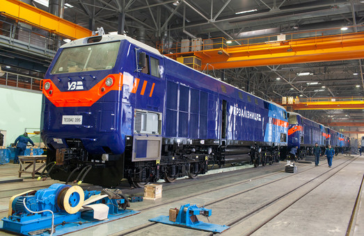 Тепловоз «Тризуб» скоро прибудет на Одесскую железную дорогу