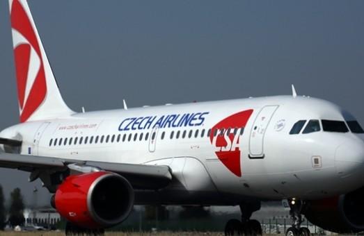 Авиакомпания «Czech Airlines» снова летает в Одессу