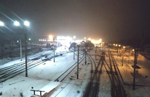 На Одесской железной дороге переходят на светодиодное освещение