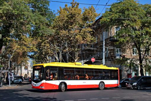 Белорусские троллейбусы на улицах Одессы (ВИДЕО)