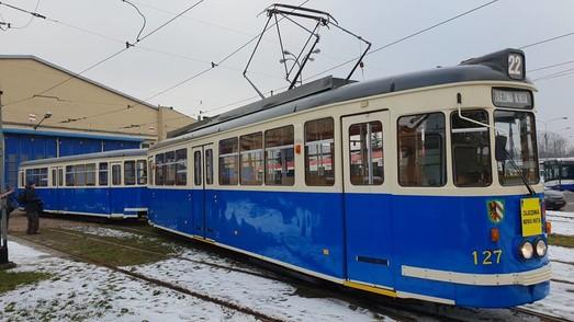 В Кракове восстановили еще один ретро-трамвай