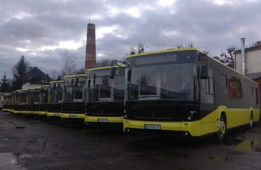 Коммунальный автоперевозчик Львова получил уже 131 автобус из 150
