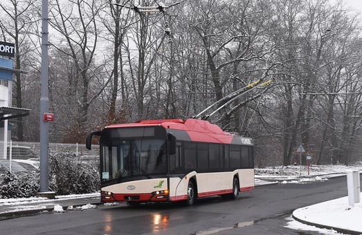 В Пльзене обкатывают новые троллейбусы для Вильнюса
