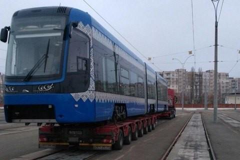 В Киев завершились поставки польских трамваев «PESA»