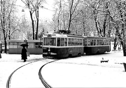 Одесский транспорт снежной зимой 1979 года (ФОТО)