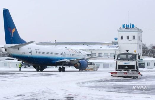 Как сегодняшняя непогода повлияла на работу украинских аэропортов