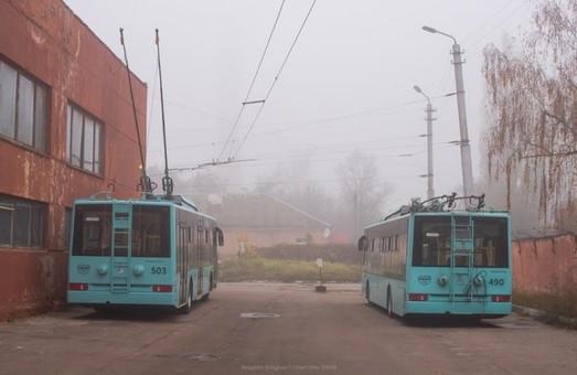 В троллейбусном депо Чернигова – пополнение