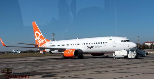 Украинский лоукостер «SkyUp» хочет летать из Одессы в Прагу