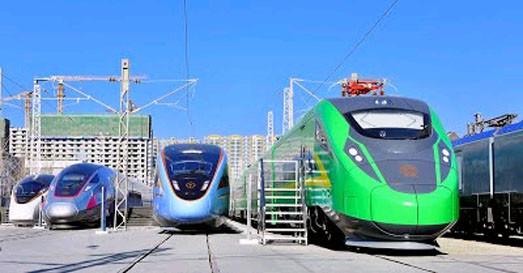 На выставке в Пекине показали новые скоростные поезда «Fuxing»