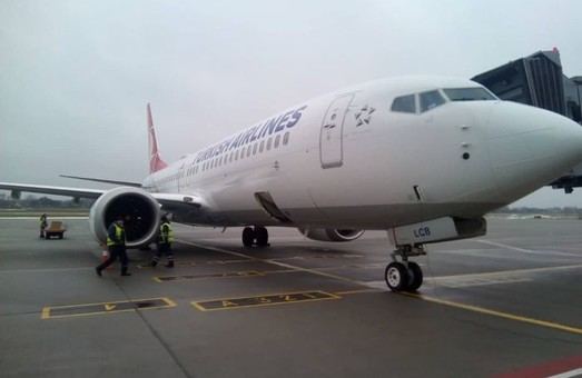 «Turkish Airlines» начала использовать авиалайнеры «Boeing 737 MAX 8» на рейсах в Украину