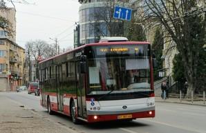 Новые большие автобусы «Богдан» начнут работать в Ивано-Франковске уже в январе
