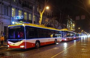 Какие маршруты в Одессе на Новый Год будут работать всю ночь