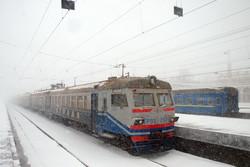 Как одесский транспорт остановился в снегу в 2014 году (ФОТО)