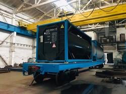 Вагоностроительный завод в Новом Роздоле в этом году выпустил 1000 вагонов