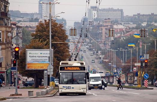 В Запорожье теперь можно следить за движением транспорта он-лайн