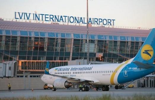 Львовский аэропорт в 2018 году увеличил свой пассажиропоток почти на половину