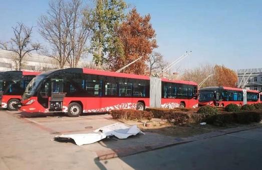 В китайском городе Баодине открылось троллейбусное движение