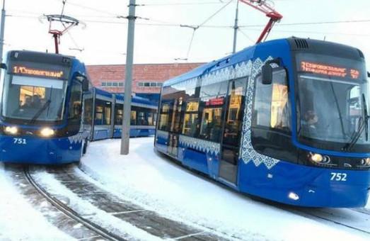 Киевские трамваи и троллейбусы «заговорили» на английском языке