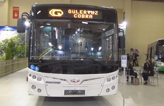 Ивано-Франковск купил 12 турецких городских автобусов
