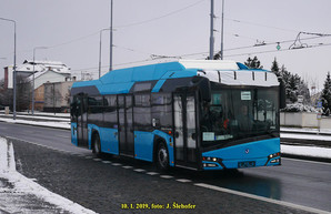 В Пльзене обкатывают электробусы «Škoda 26 BB»
