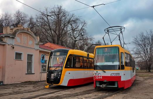 Трамвайный маршрут «Север – Юг» в Одессе начнет курсировать в конце зимы